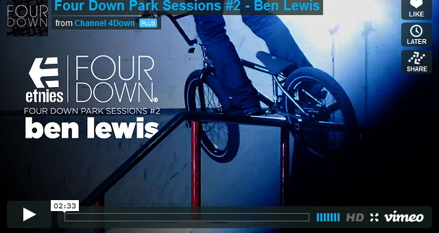 Four Down Park Sessions #2 - Ben Lewis